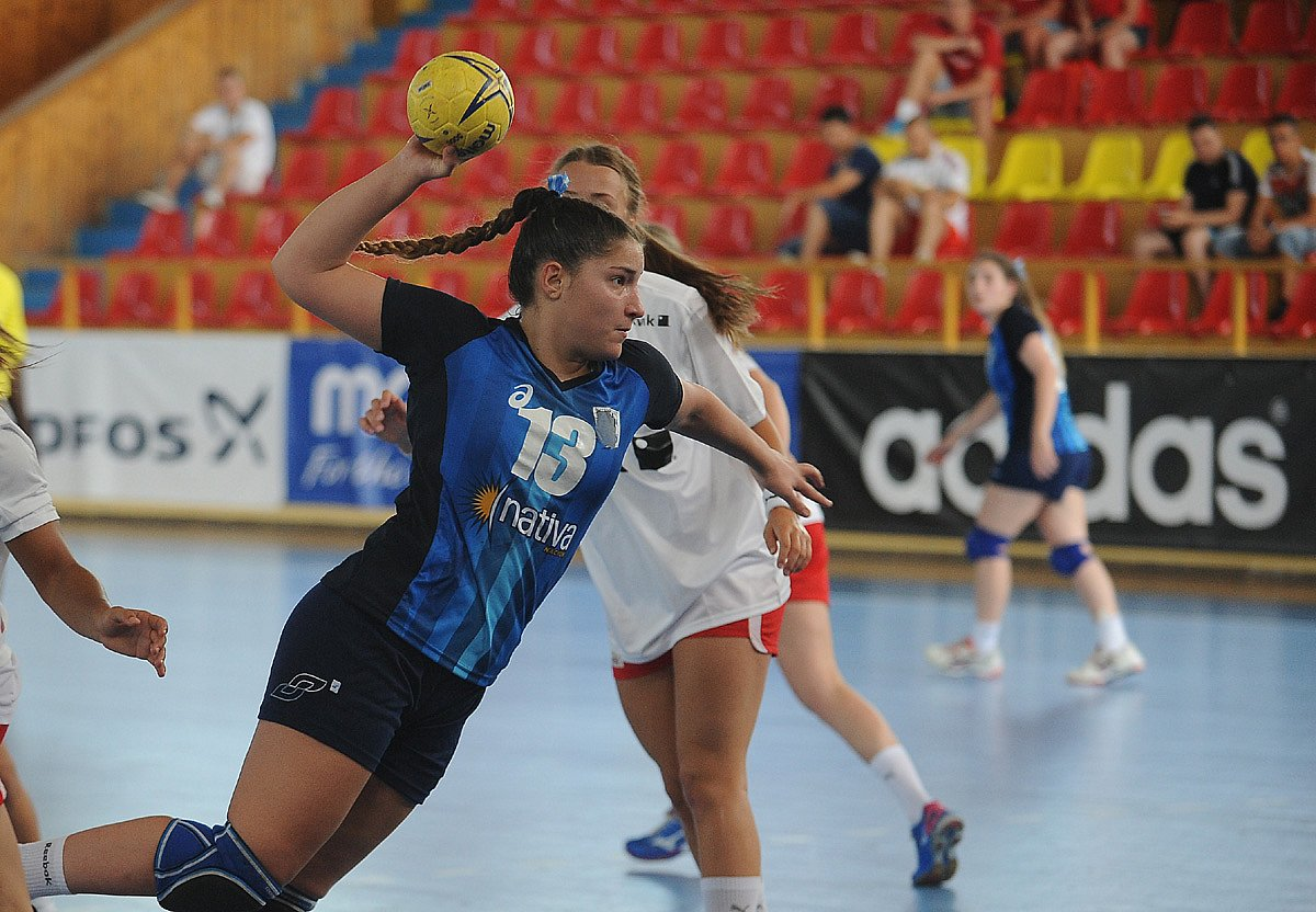 Handball. Giuliana Gavilán, al seleccionado adulto femenino