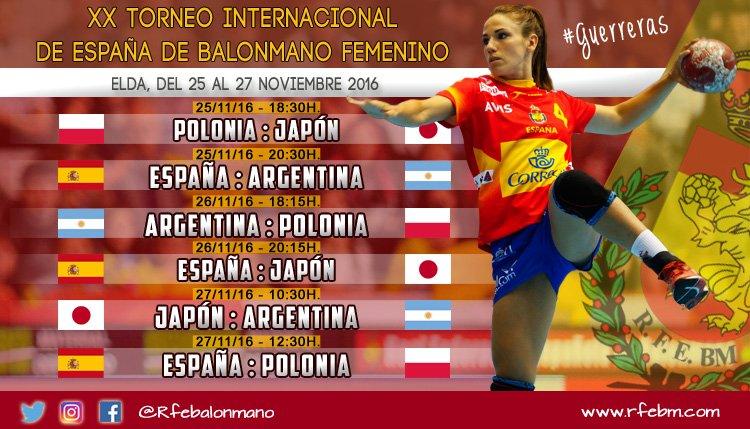 Handball. La Selección Femenina jugará un cuadrangular en España
