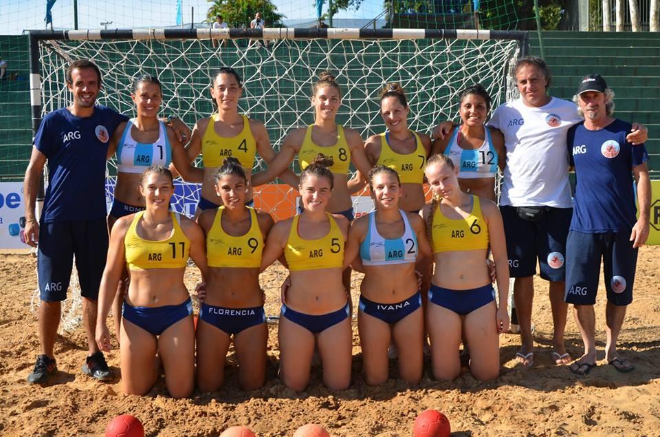 El beach handball en su mejor momento