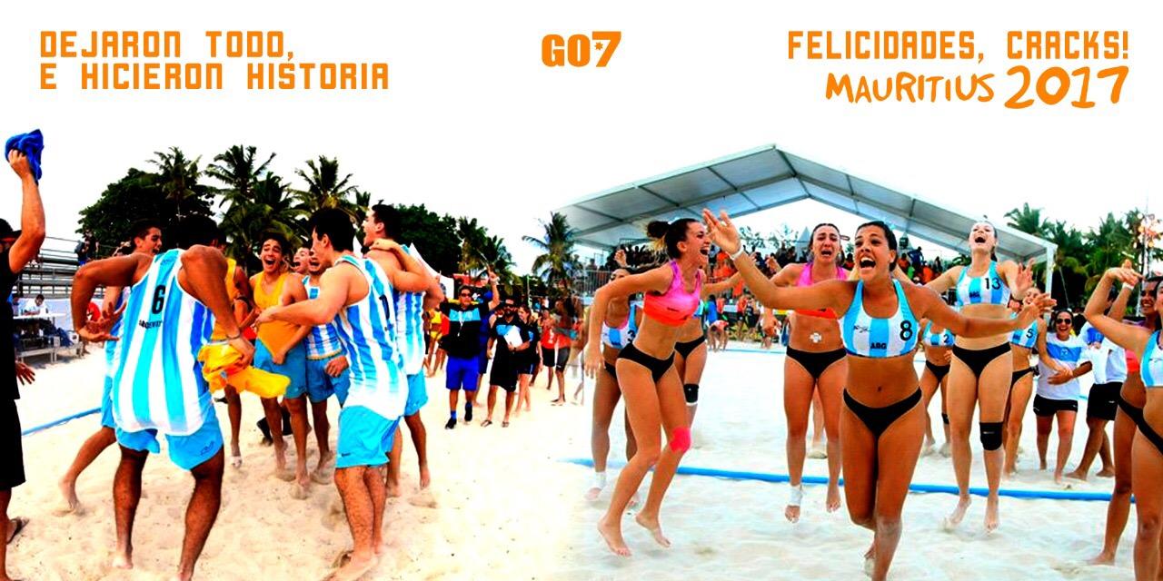 Mundial histórico para el handball argentino