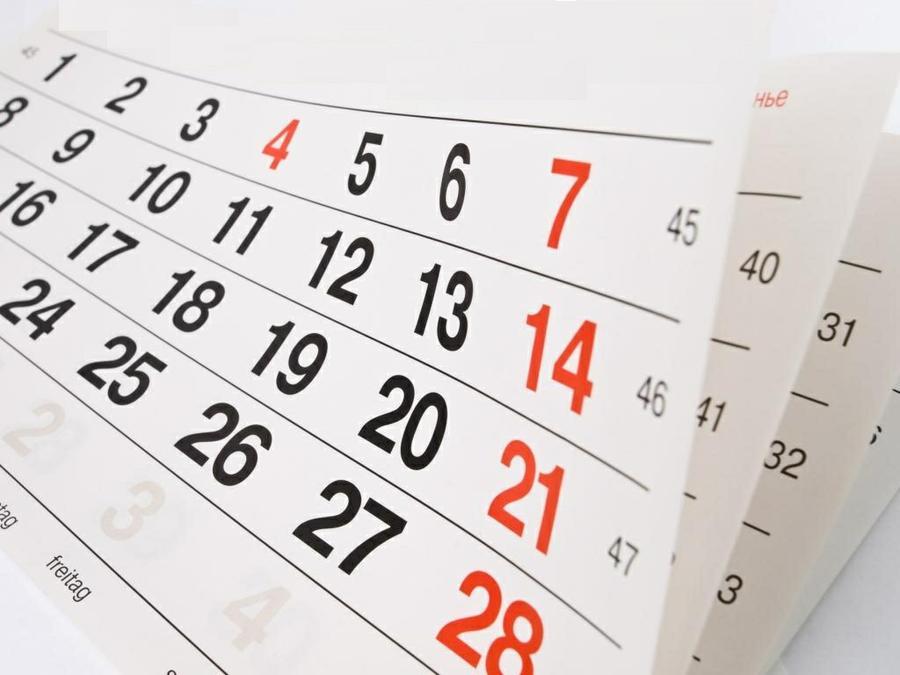 ¿Jugar para vivir o vivir para jugar? Calendarios que restan