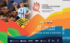 San Juan recibirá el Cuatro Naciones de Handball con Argentina, España, Rusia y Polonia